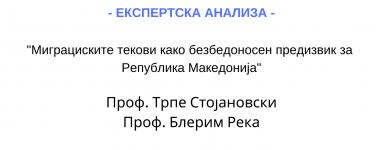 Експертска анализа Трпе Стојановски и Блерим Река