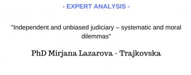 Expert analysis Lazarova - Trajkovska