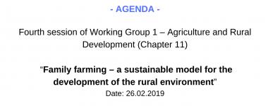 Agenda WG1 4 session