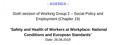 Agenda WG2 6 session