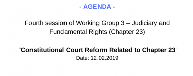 Agenda WG3 4 session
