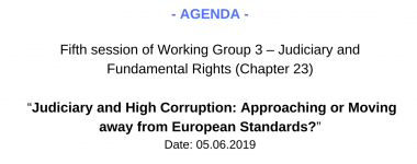 Agenda WG3 5 session