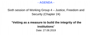 Agenda WG4 6 session