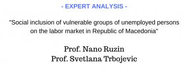 Expert analysis Nano Ruzin and Svetlana Trbojevic
