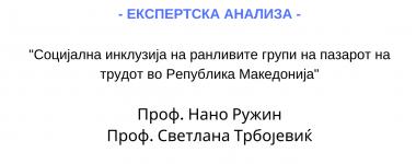 Експертска анализа Светлана Трбојевиќ и Нано Ружин
