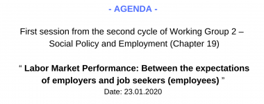 Agenda WG2 1 session of the 2 cycle