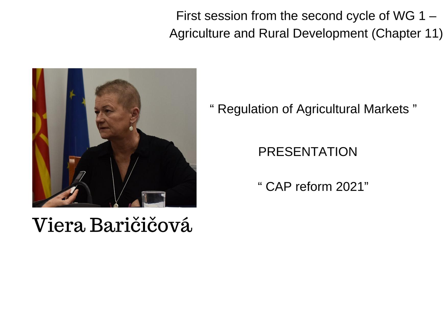 Viera Baričičová 2021