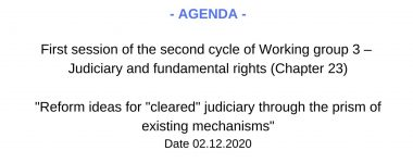 Copy of Copy of Agenda WG5 1 session 2 cycle