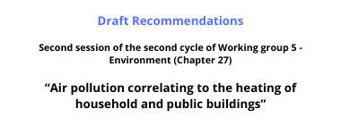 Draft Recommendations WG5