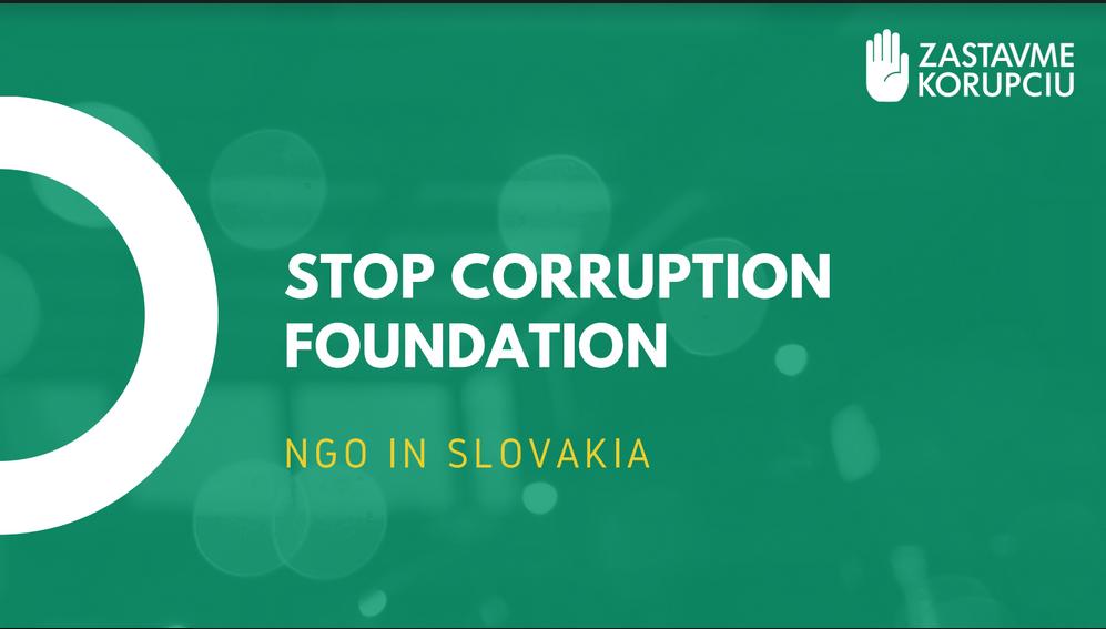 Stop corruption foundation