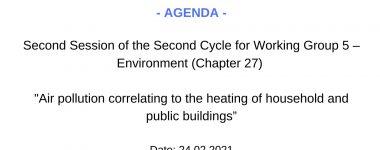 Agenda WG4 session 2