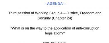 Agenda WG4 session 3